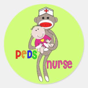 Pediatric Nurse Stickers   Zazzle