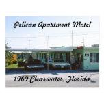 Pelican Apartment Motel Florida Postcard