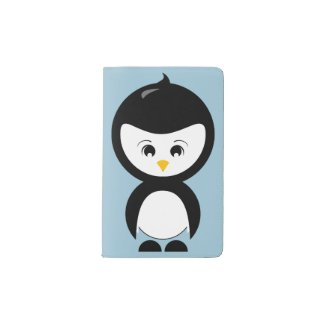 Penguin Graphic Moleskine Notebook Cover