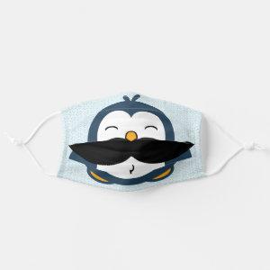 Penguin Mustache Trend Cloth Face Mask