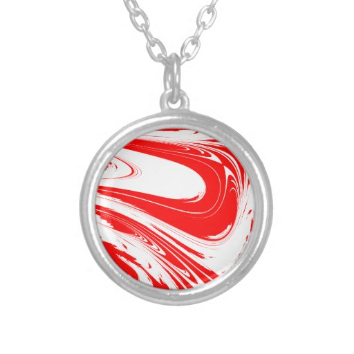 Peppermint pattern necklace design