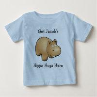 Personal Hippo Hugs Baby Tee