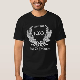 Personalize Vintage Aged to Perfection Shirt