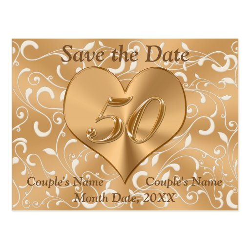 Personalised Save Date Postcards