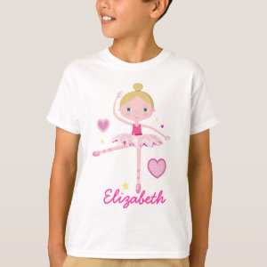 Personalized Ballerina A T-shirt