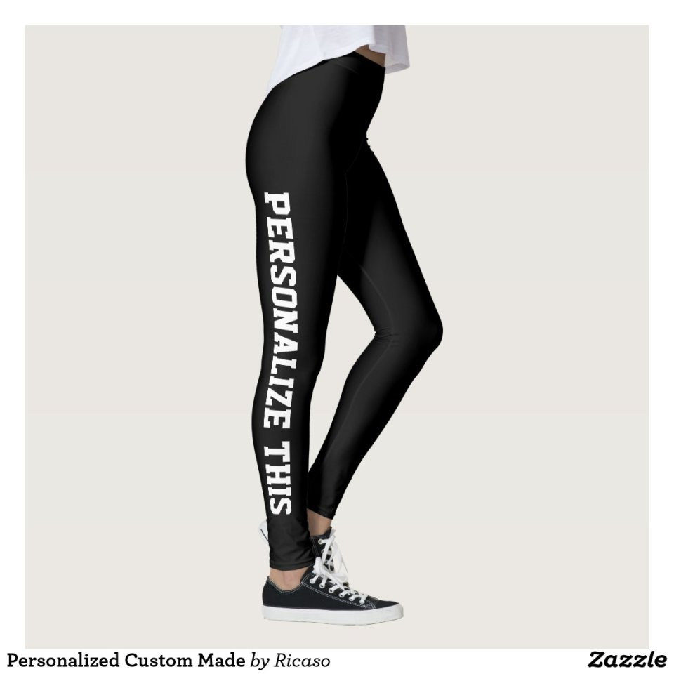 Personalized Custom Made Leggings