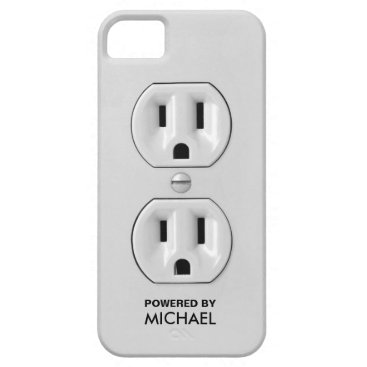 Personalized Funny Power Outlet iPhone SE/5/5s Case