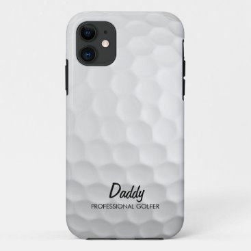 Personalized Golf Ball iPhone 11 Case