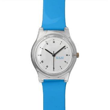 Personalized Initials Wristwatch
