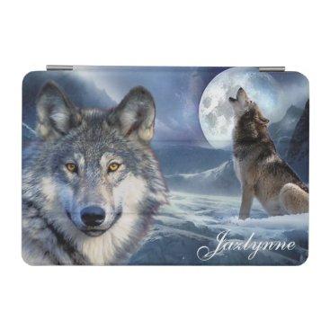 Personalized/iPad mini Cover/Wolf iPad Mini Cover