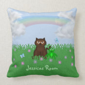 Personalized Kids Pillow throwpillow