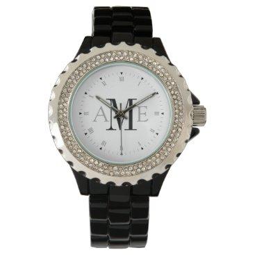Personalized Monogram Wrist Watches