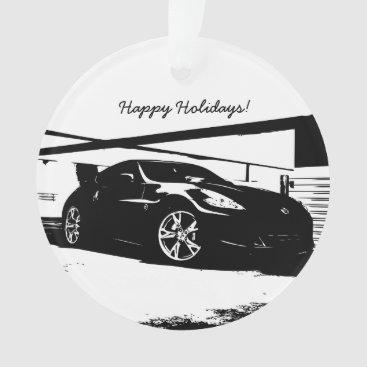 Personalized Nissan 370Z Ornament