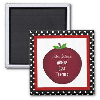 Personalized Teacher Magnet magnet