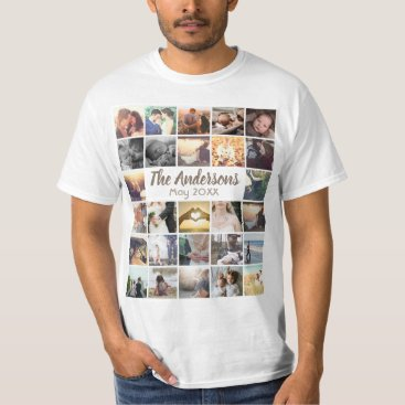 Personalized template photo collage and text T-Shirt