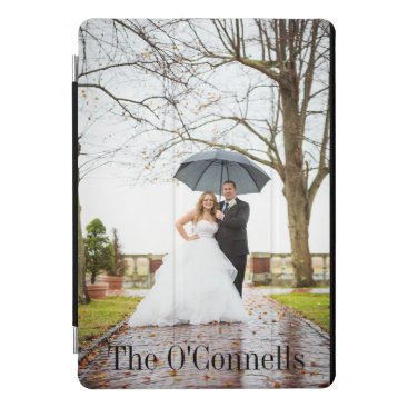 Personalized Wedding iPad Pro Cover