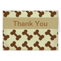 Pet Business Thank You Cards