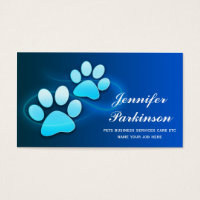 pets business cards