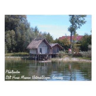 Pfahlbauten - Stilt House Museum Unteruhldingen Postcards