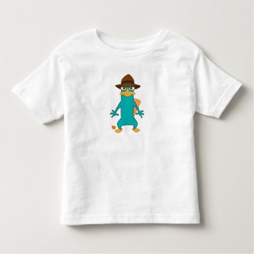 Phineas and Ferb Agent P platypus in hat standing Toddler T-shirt