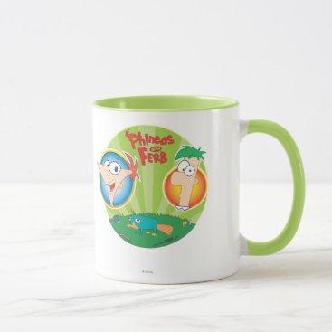 Phineas and Ferb Mug