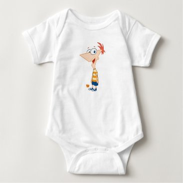 Phineas and Ferb Phineas Smiling Disney Baby Bodysuit