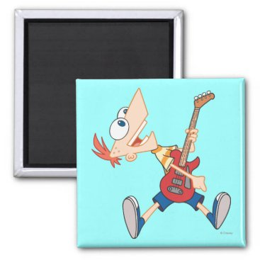 Phineas Rocking Out with Guitar Magnet