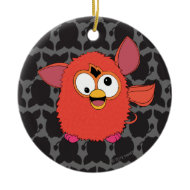 Phoenix Red Furby Christmas Ornaments