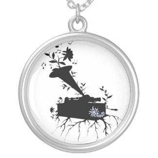 Phonograph, Musical Roots - Necklace necklace