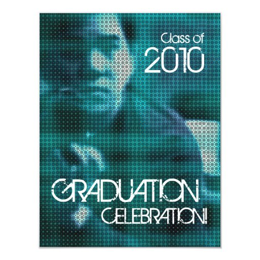 Party Inserts Graduation Invitations