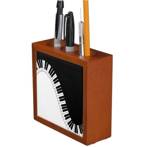 Piano Keyboard Pencil Holder