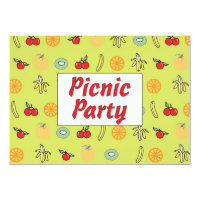 Picnic Party Invitation