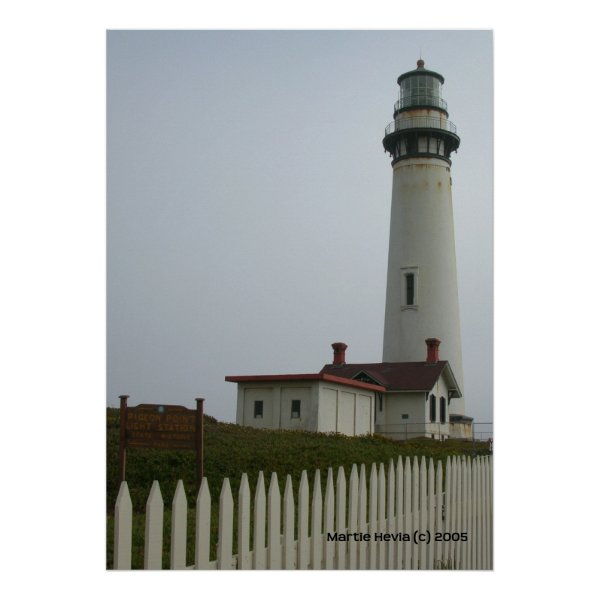 Pigeon Point Lighthouse Print print