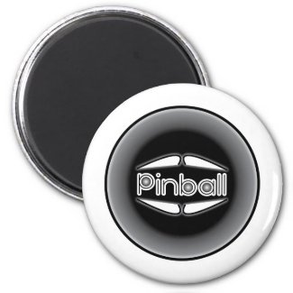 Pinball Kickout Fridge Magnets