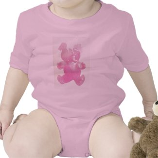 Pink Elephant Tshirts Baby and Kid Tshirts by CricketDiane