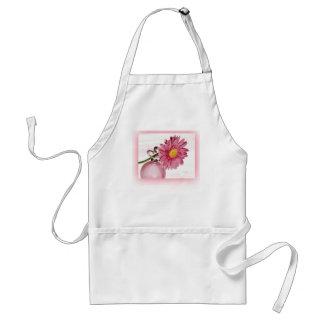 Pink Gerbera Daisy Aprons