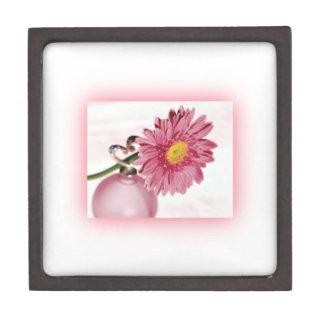 Pink Gerbera Daisy Premium Keepsake Boxes