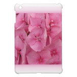 Pink Hydrangea ipad mini cases