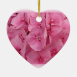 Pink Hydrangea ornaments