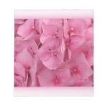 Pink Hydrangea notepads