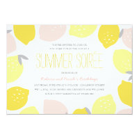 Pink Lemonade Party Invite