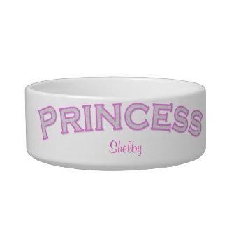 Pink Princess Pet Bowl petbowl