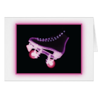 Pink Rollerskate Xray Cards