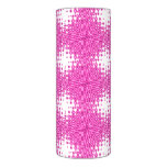 Pink Starburst Abstract Flameless Candle