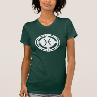 Pisces Zodiac Sign Tshirts