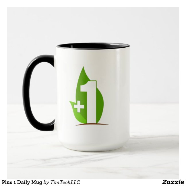 Plus 1 Daily Mug