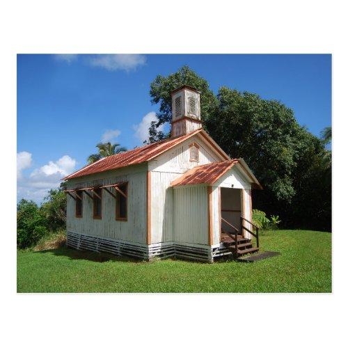 Pohakupuka Congregational Church, Hawaii Postcard
