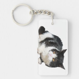 Pokey the Cat Key Chain
