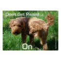 Poodle - Don't Get Pissed - Poster