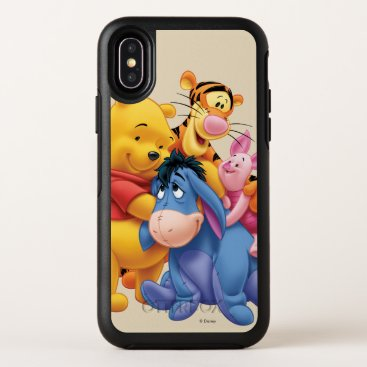 Pooh & Friends 5 OtterBox Symmetry iPhone X Case